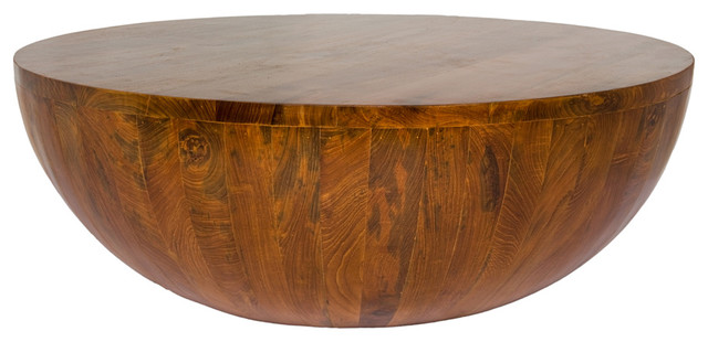 Half Circle Tail Table Solid Reclaimed Teak Wood
