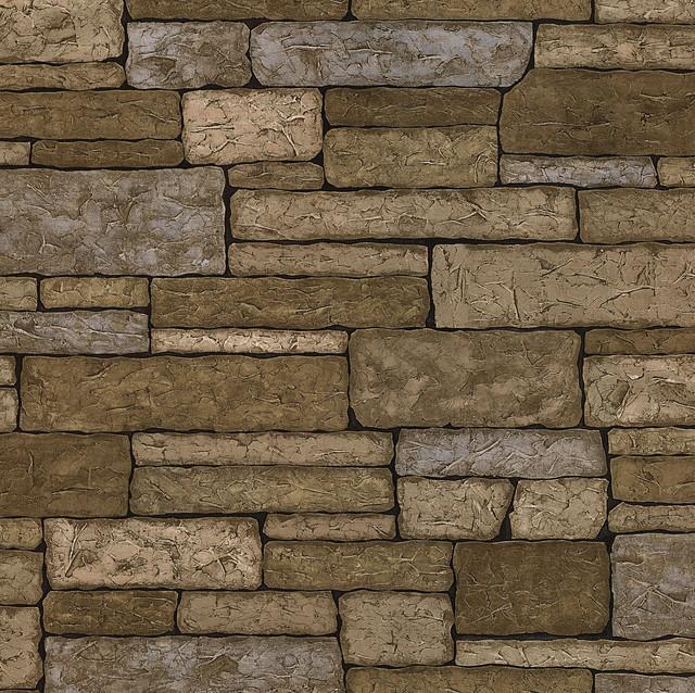 Clayton Neutral Stone Texture Wallpaper Bolt