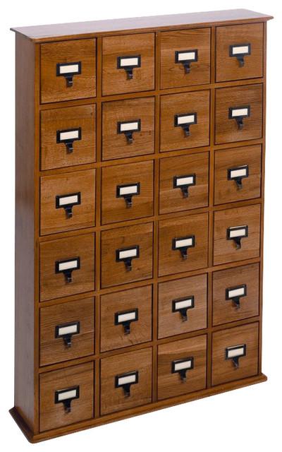 Leslie Dame 288 Cd Storage Cabinet In Oak.