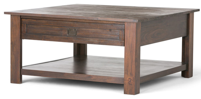 Lytton Chunky Wooden Coffee Table