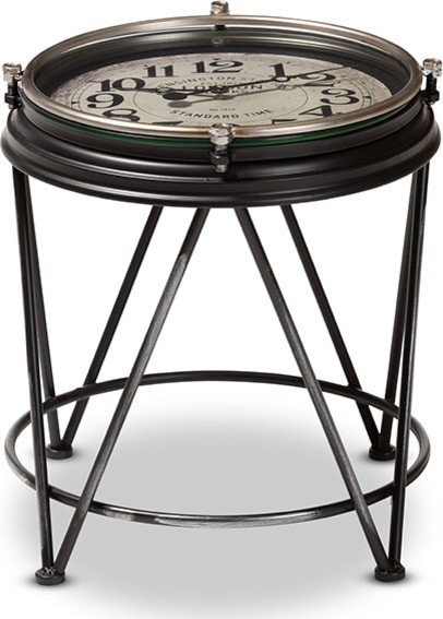 Giles Accent Table   Industrial   Side Tables And End Tables   By HedgeApple