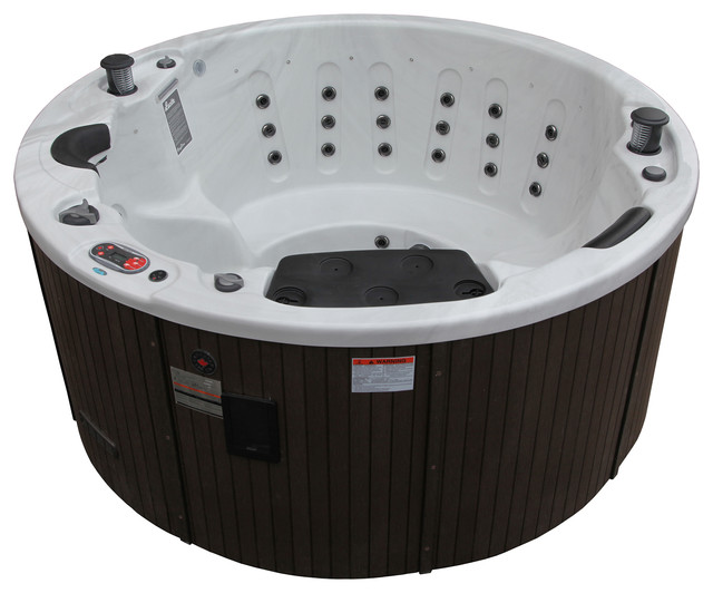 Ottawa 38 Jet 5 Person Hot Tub With Led Lighting And Pop