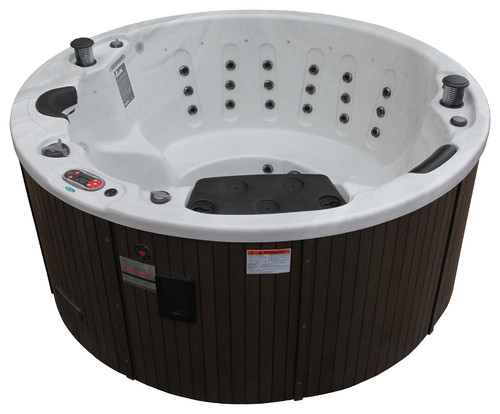 Hot Tub with Pop-up Speakers
