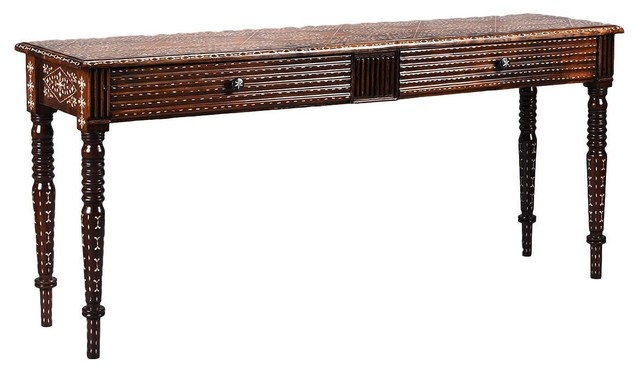 MOP Long Console With Drawers
