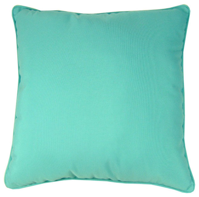 Beach Style Outdoor Cushions : Sunbrella Indoor/Outdoor Pillow - Beach Style - Outdoor Cushions And Pillows - by lava