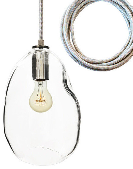 glass blown pendant lighting. bubble nickel hand blown glass pendant light large replica incandescent pendantlighting lighting n