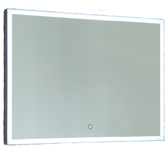 Vanity Art Led Lighted Vanity Bathroom Mirror With Touch Sensor ...