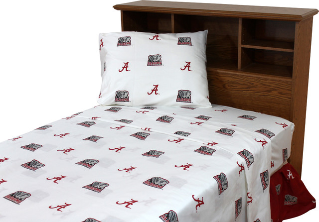 College Covers Alabama Crimson Tide Printed Sheet Set