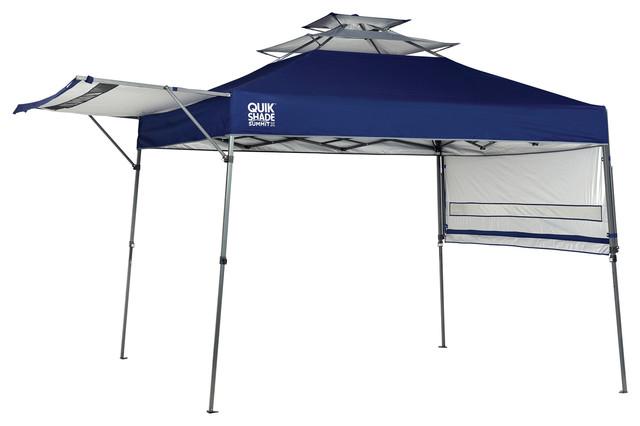 Quik Shade Summit Sx170 10&x27;x17&x27; Straight Leg Canopy, Blue.