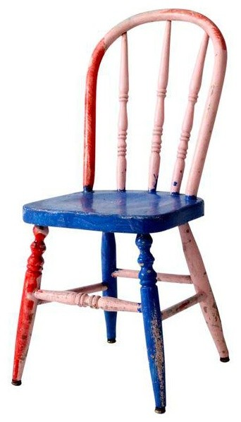 Astounding Consigned Vintage Painted Childrens Chair Gmtry Best Dining Table And Chair Ideas Images Gmtryco