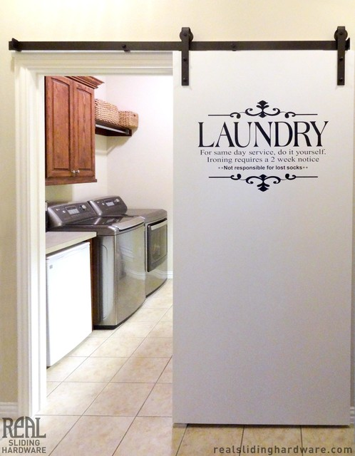 Laundry Room Barn Door Hardware