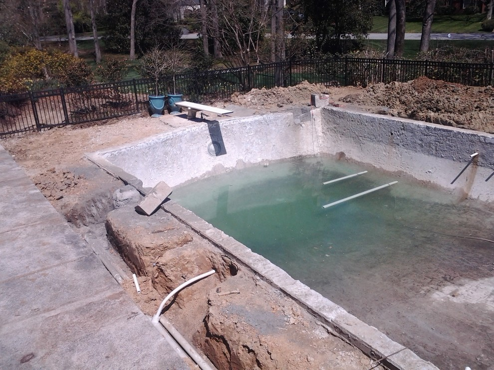 CONSTRUCTION Swimming Pool Plumbing Renovation