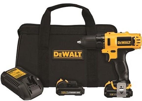 12v Max 3/8 Driver Drill Kit.