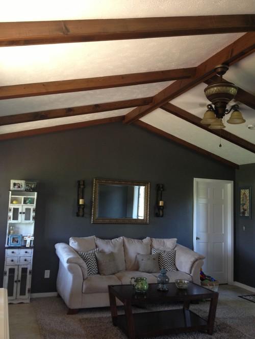 One Dark Wooden Beam ~ Wooden ceiling beams