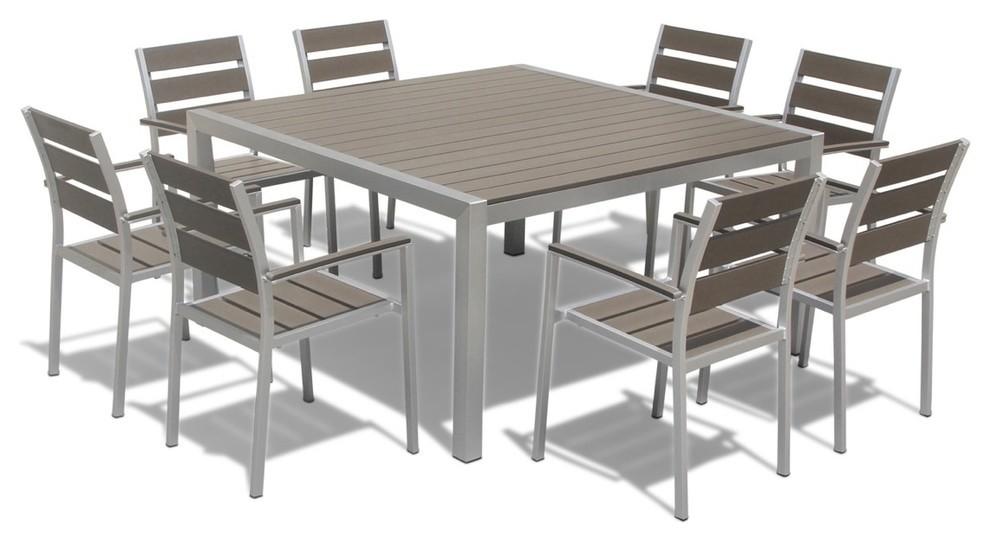 9 Piece Outdoor Patio Furniture Set