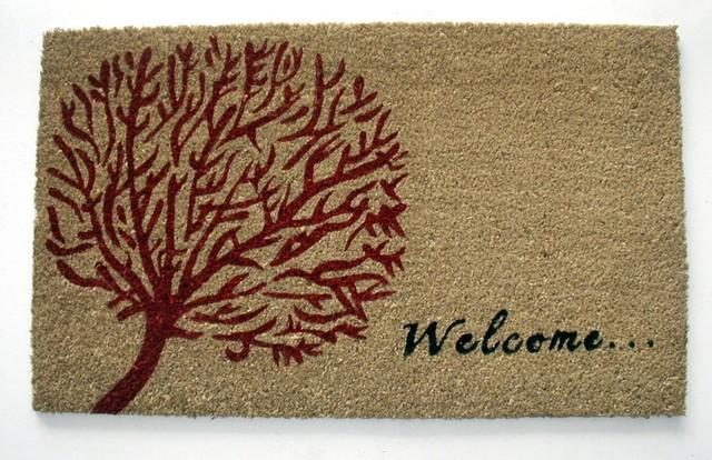 Welcome Tree Of Life Doormat