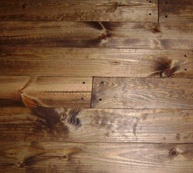 Stained And Face Nailed Southern Yellow Pine
