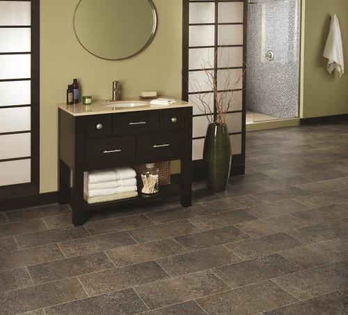 contemporary vinyl flooring Sobella Supreme, Fiberglass core, vinyl sheet flooring from Mannington