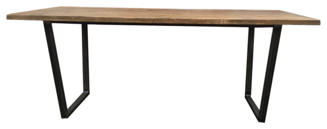 Ubar Reclaimed Timber Dining Table Industrial Dining Tables By