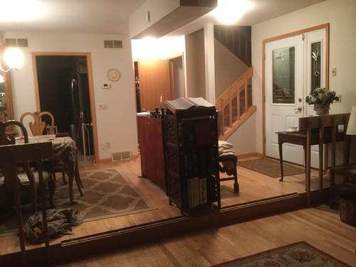 Front Door Opens To Dining Room