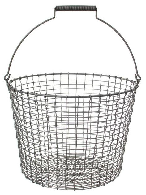 Bucket Drahtkorb Stahl verzinkt 24 Liter Korbo