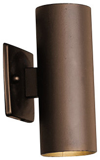 Kichler 15079azt Low Voltage Ada Compliant 2 Light Outdoor Wall Sconce.