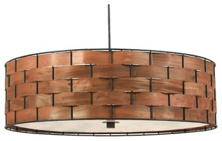 Kenroy lighting shaker transitional drum shade 3 light pendant kenroy lighting shaker transitional drum shade 3 light pendant tropical pendant lighting by lamps expo aloadofball Gallery