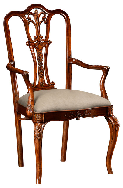 Traditional Dining Chairs jonathan charles mahogany 18th century style dining chair 492474