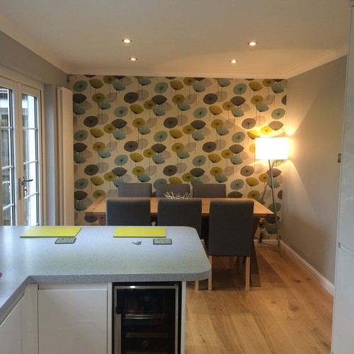 Kitchen/dining Knock Through On A Budget