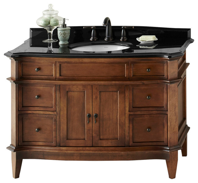 Ronbow Corp Ronbow Solerno Solid Wood 48 Vanity Set With