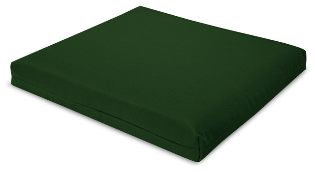 "19"" Seat Cushion, Forest Green"