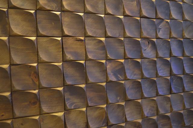 Awesome Boccioli Castanho Decorative Wood Panels, 9.36 Sq. Ft.