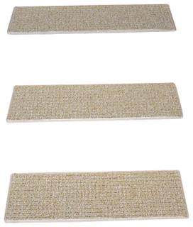 Indoor Or Outdoor Non Slip Carpet Stair Treads Seashore