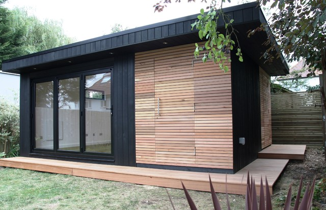storage shed office. Fine Office Garden Office With Storage Shed And Sauna Contemporary With