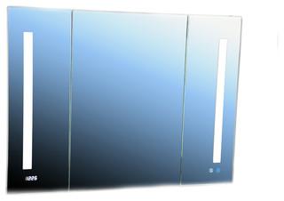 "Aquadom Signature Royale Medicine Cabinet, Cool-Warm Light 40""x30""x5"""