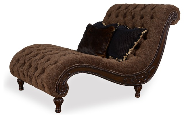 Accents Cheetah Chaise - Traditional - Indoor Chaise Lounge Chairs ...