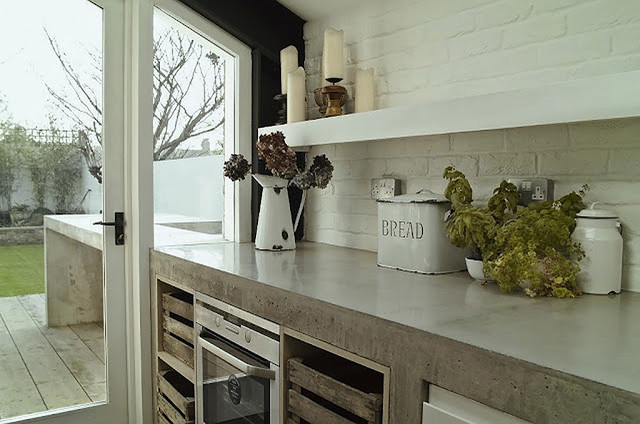 Kitchen Counters: Concrete, the Nearly Indestructible Option