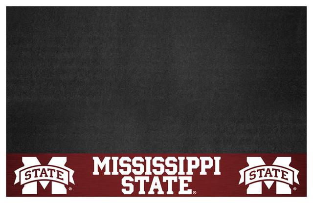 "Kitchen Mississippi State Grill Mat 26""x42""."