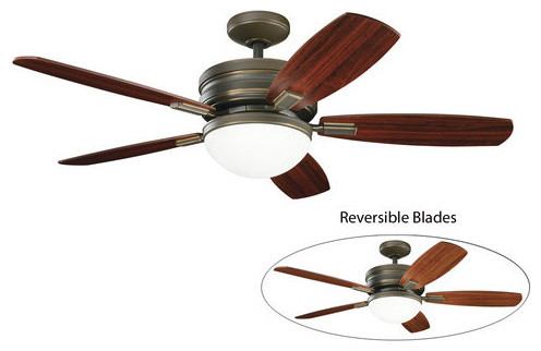 Kichler 52 Quot Indoor Ceiling Fan With 5 Blades Includes