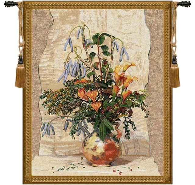 Mobach Tapestry Wall Art Hanging - Traditional ...