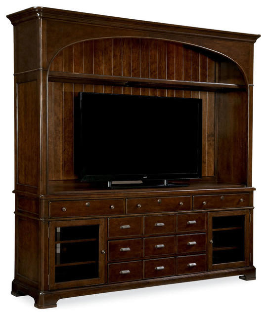 Paula Deen Home River House Entertainment Console With Hutch River