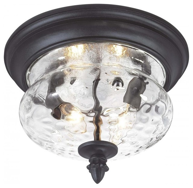 Minka Lavery - Minka-Lavery Ardmore 2-Light Outdoor Flush Mount ...