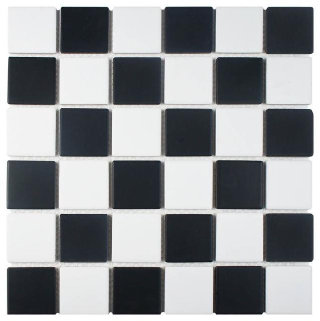 125x125 Knight Porcelain Mosaic Floorwall Tile Contemporary