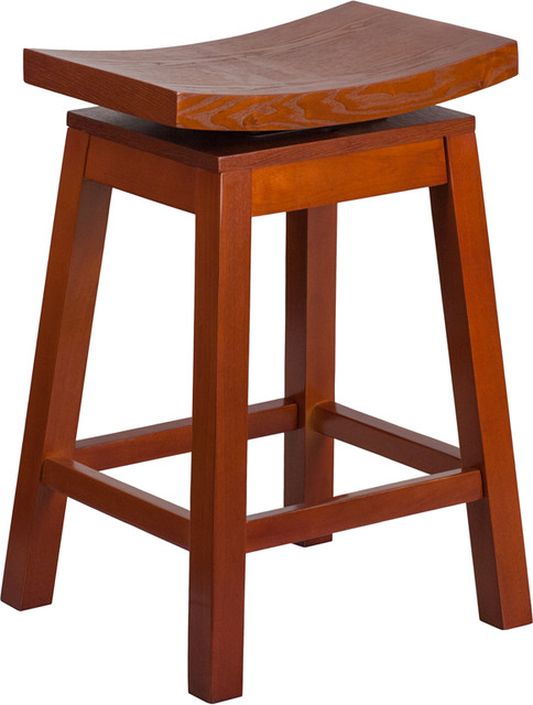 26 39 39 high saddle seat light wood counter height stool contemporary bar stools and counter. Black Bedroom Furniture Sets. Home Design Ideas