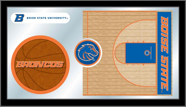 Boise State 15 Quot X26 Quot Basketball Mirror Contemporary