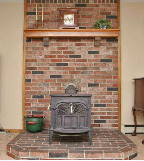 wood stove fireplace - Wood Stove Design Ideas