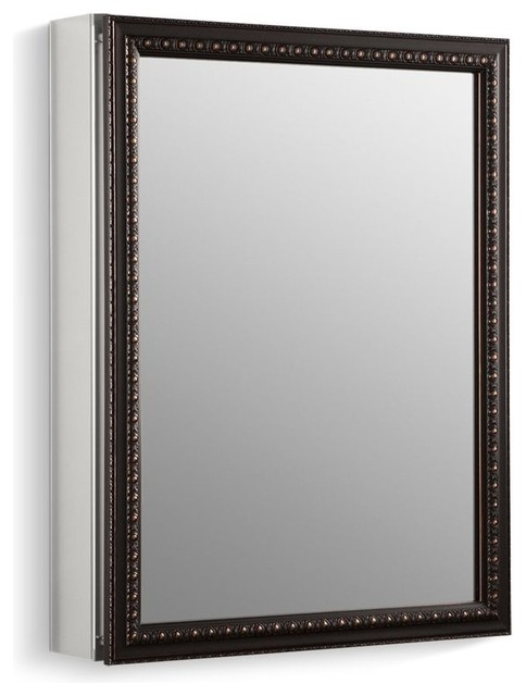 Kohler Aluminum Cabinet Oil-Rubbed Bronze Framed Mirror Door, Oil-Rubbed Bronze