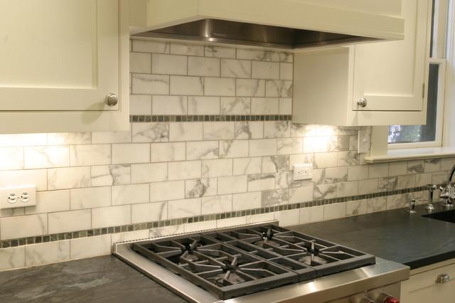 Vintage Kitchen Tiles Traditional Vintage Kitchen Design Backsplash Detail