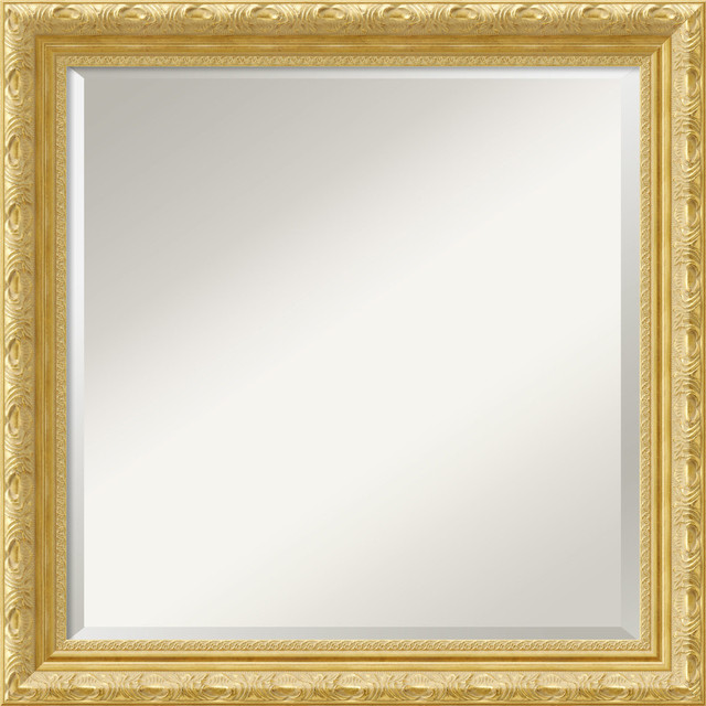 Versailles Square Wall Mirror - Traditional - Wall Mirrors - by ...
