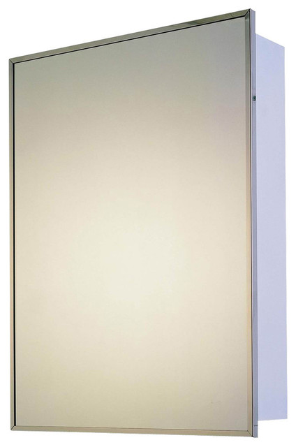 Deluxe Stainless Steel Cabinet - Modern - Storage Cabinets - by Ketcham Medicine Cabinets